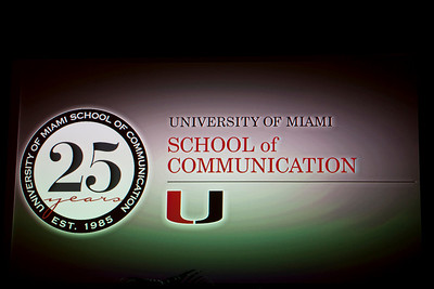 25th Anniversary of the School of Communication - November 3, 2010