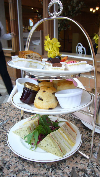 Wonderful afternoon tea as a British meal.