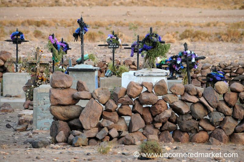 Desert Cemetery - Candelaria