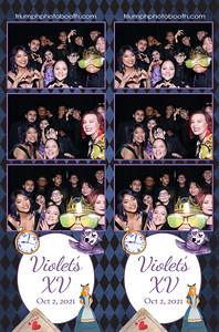 10/2/21 - Violet's 15