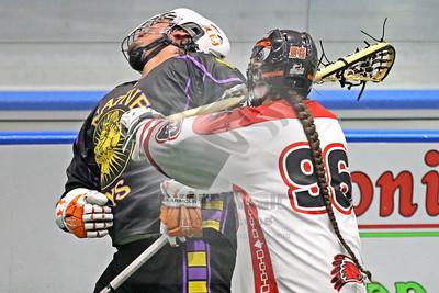 8/13/2016 - Can Am Championship Game #3 - Native Sons vs. Onondaga Redhawks - Tsha' Hon'nonyen'dakhwa', Onondaga Nation Territory (Onondaga Nation Arena, Nedrow, NY)