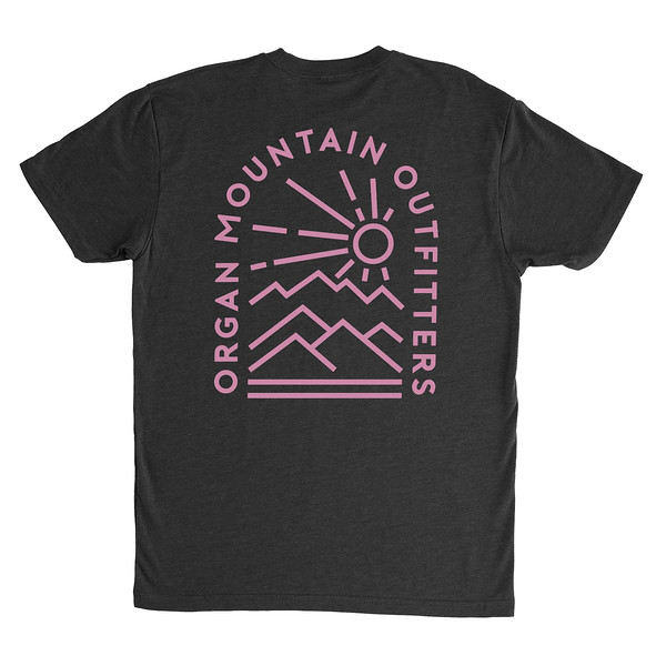 Organ Mountain Outfitters - Outdoor Apparel - Mens T-Shirt - Elevation Tee - Black Back.jpg