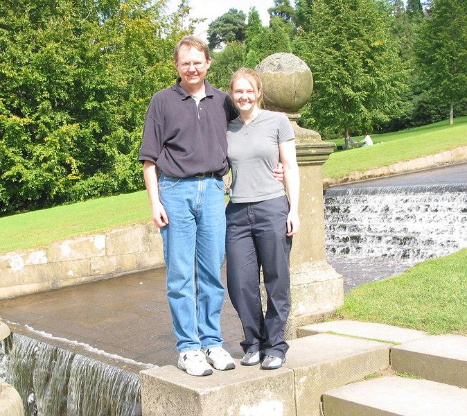 John and Vicki, Chatsworth.