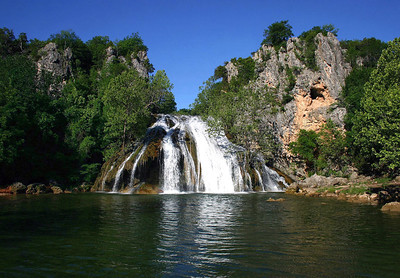 Chickasaw National Recreation Area and Turner Falls - Oklahoma