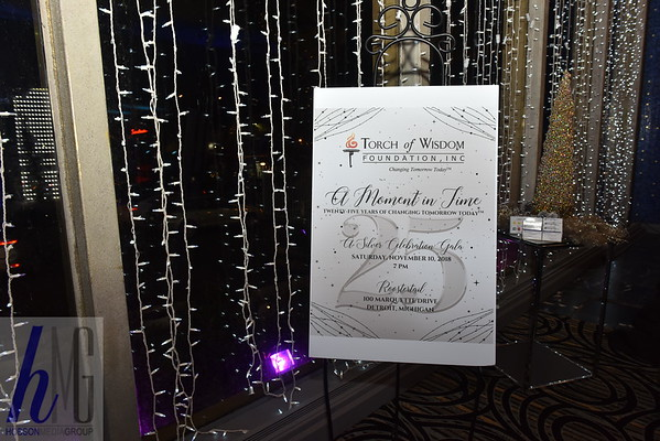 2018 Torch of Wisdom Foundation A Moment in Time 25 year anniversary
