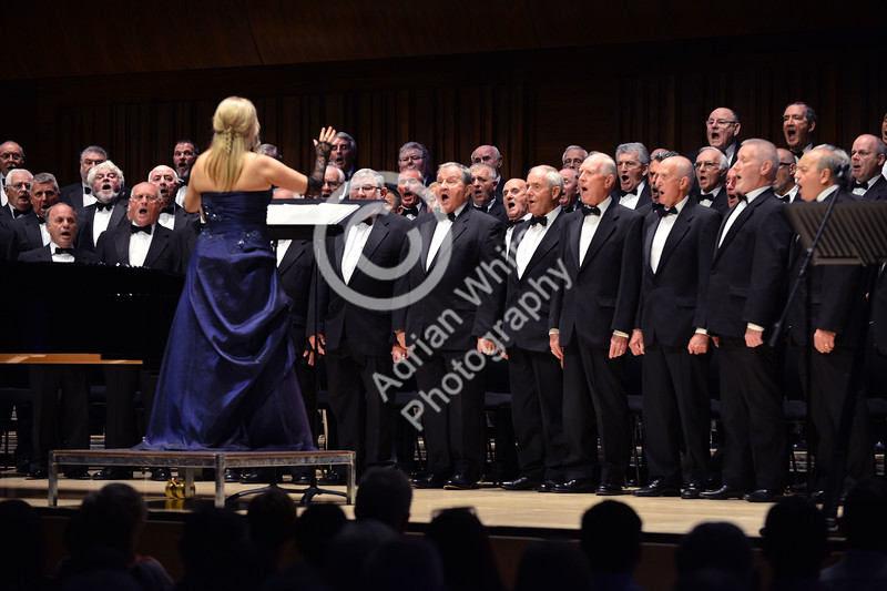 Morriston Orpheus Choir Annual Gala Concert  at The Great Hall, Swansea University with musical director Joy Amman Davies and special guest Shan Cothi.