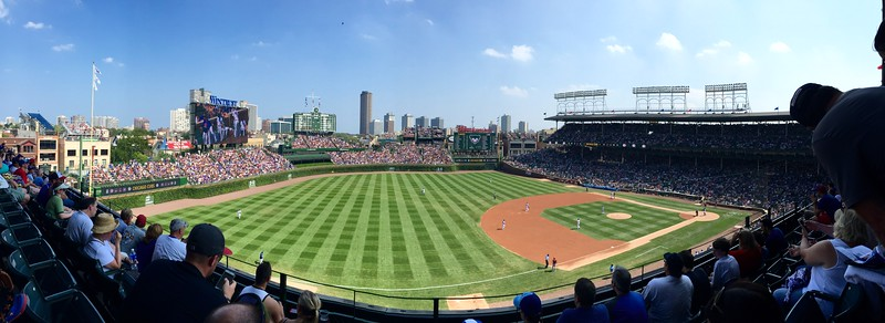 Cubs Game and Knepp Visit  2015 - iPhone