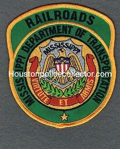 Mississippi DOT Railroads