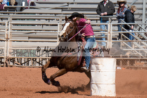 2018 Junior High Rodeo (Saturday) - Barrel Racing