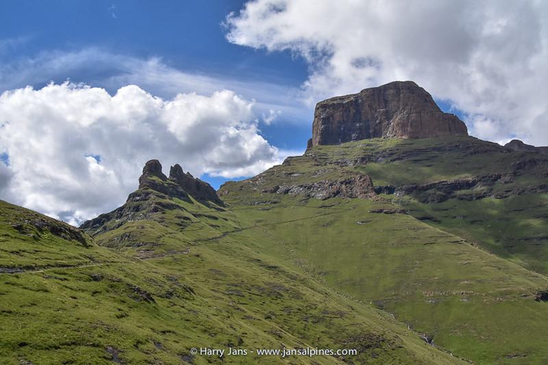 view toward Sentinel Peak