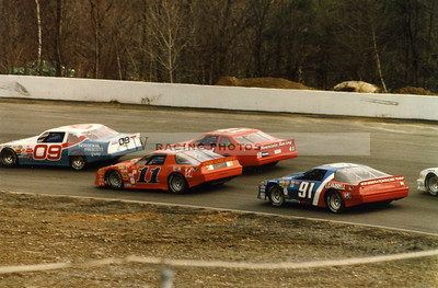 Lee USA Speedway in the 1980's