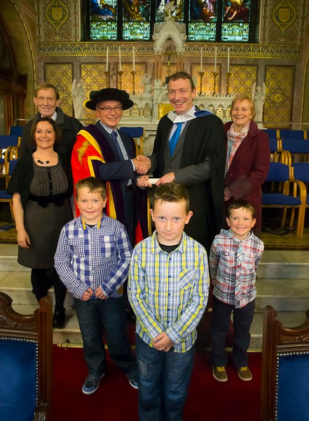 30/10/2015. Waterford Institute of Technology Conferring. Pictured are Eddie O'Brien, Thurles.  Picture: Patrick Browne