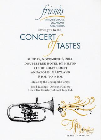 Concert of Tastes 2014