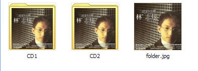 Multi CD in different folders