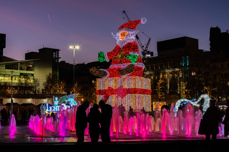 Christmas in Piccadilly Gardens