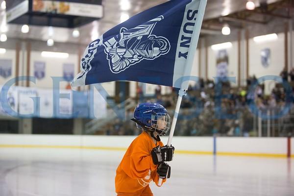 Ice Hockey vs. Brockport (Photos by Ben Gajewski)
