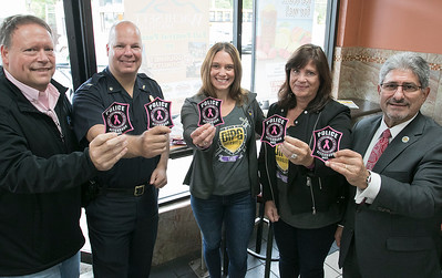 Pink Patches for Fitchburg Police, Oct. 2, 2019