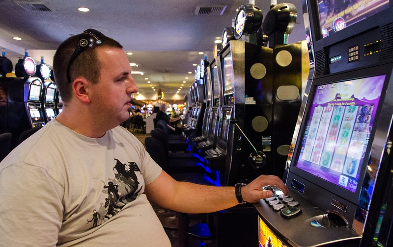 Eugene Blinov spending all of his money in Las Vegas
