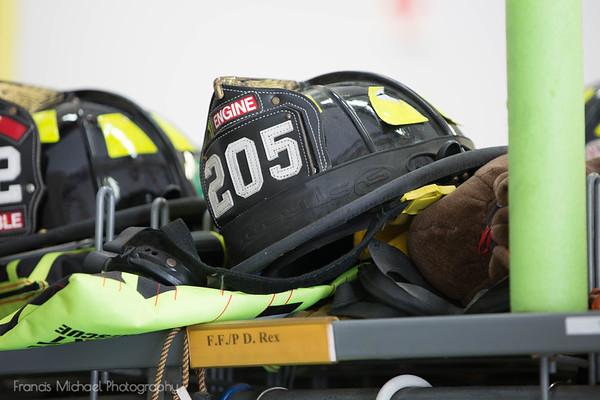 Firefighter/Paramedic Donna Rex Retirement Coffee June 21, 2018