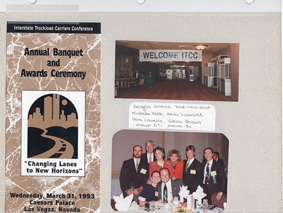 3-27-1993 ITCC Annual Meeting @ Las Vegas Cesars Palace