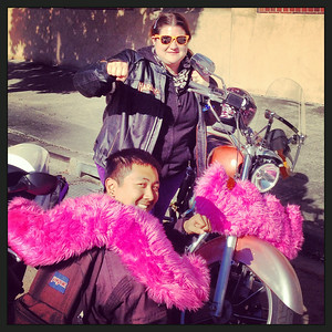 Lyft Motorcycle Ride 2013