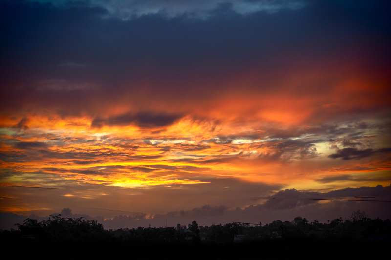 March 21 - Rain is on the way as the sun rises over the great Los Angeles basin.jpg