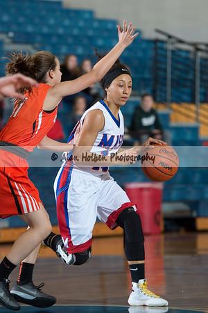 Ladies Varsity Basketball - Charlotte at Mason