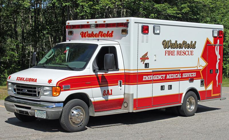 Ambulance 2   2002 Ford/AEV