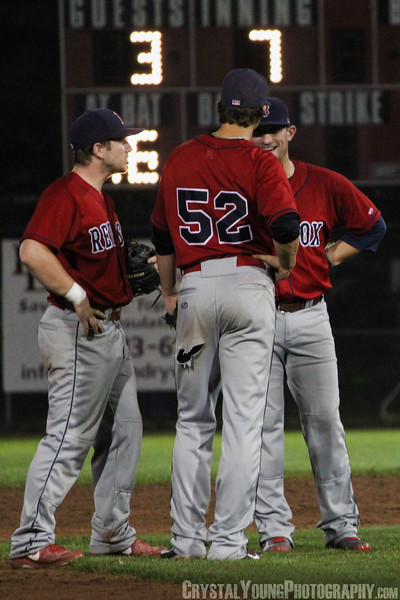 Brantford Red Sox at Barrie Baycats IBL Playoffs, Finals Game 2 August 31, 2013