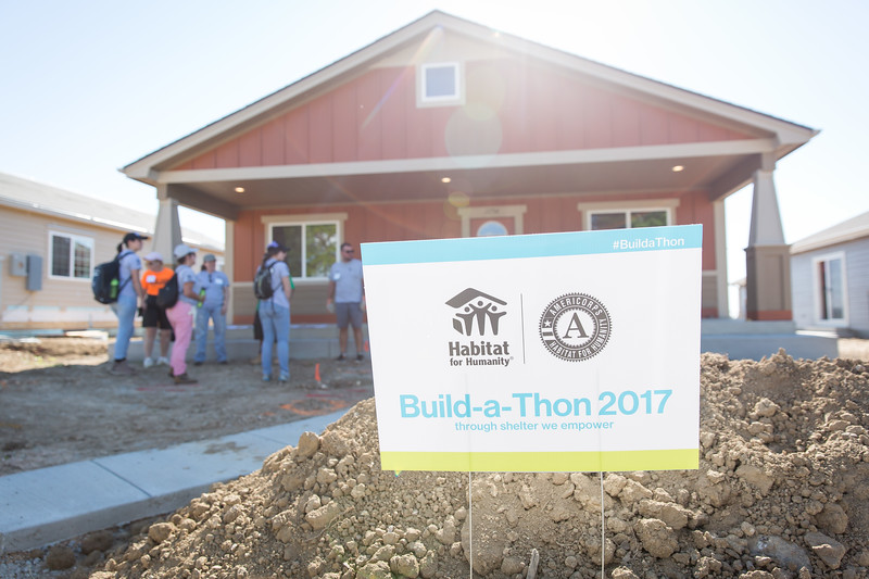 Habitat for Humanity build 2017
