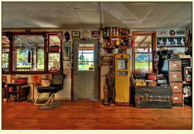 Galax, Oldtown Barber Shop
