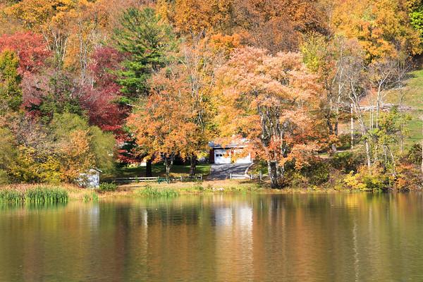 Fall Foliage - Hopkins, CT -October 17, 2010