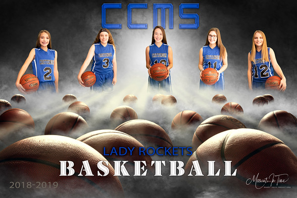 2018 CCMS 8th Grade Girls Basketball Banners