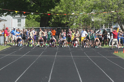 UP Boys' 100 Meters - 2014 MHSAA T&F Finals