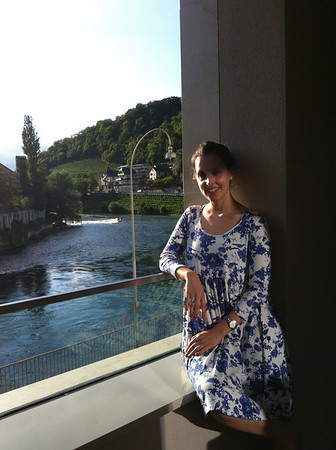Zurich and Baden w Kira Aug 2013