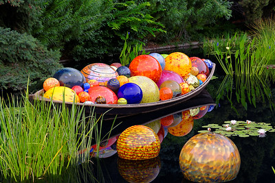 Chihuly Glass at the Denver Botanic Gardens