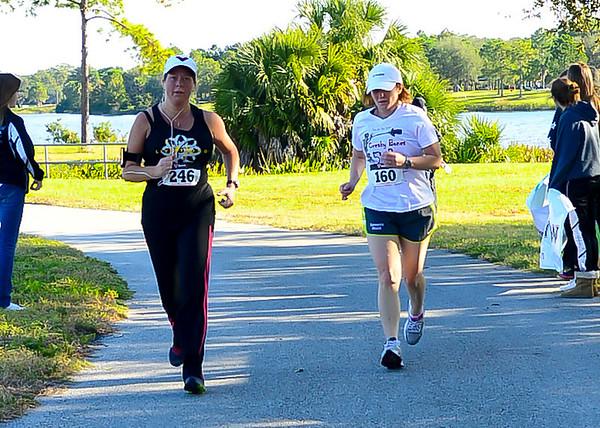 Run for the stars 2012  Race Finish