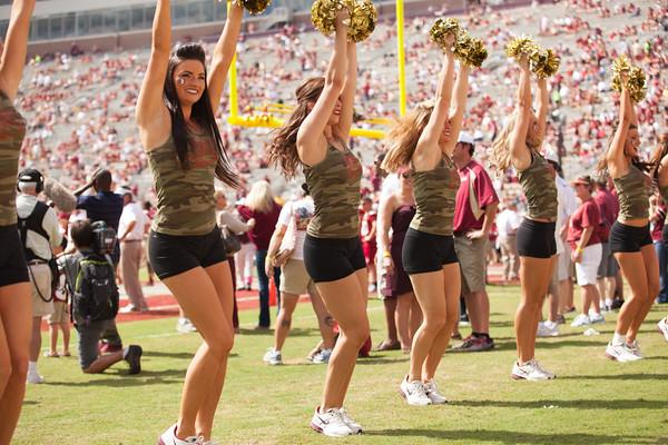 FSU Cheerleading, Fans and Band - Wake Forest @ FSU 2012