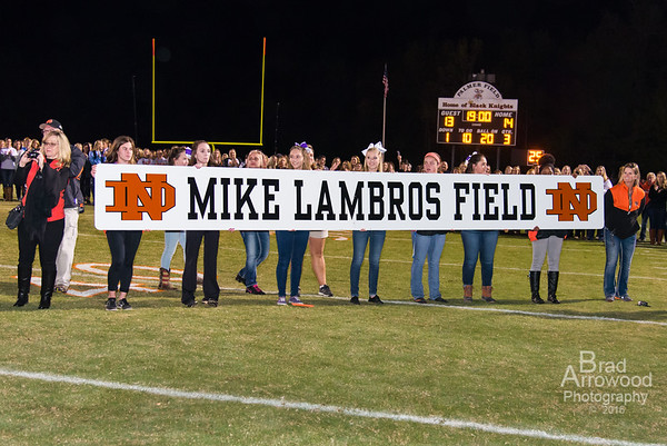 Mike Lambros - Dedication of Mike Lambros Field