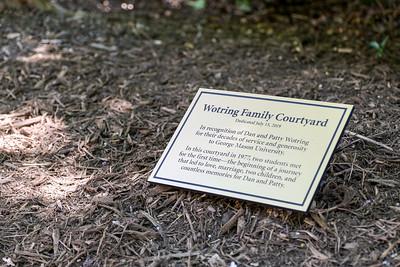Wotring Courtyard Dedication