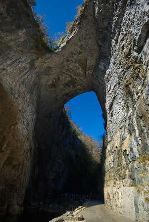 Natural Bridge of Virginia + Indian Village