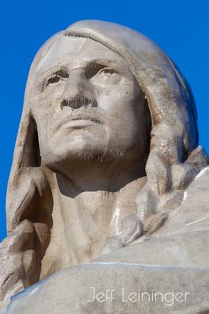 Blackhawk Statue Renovated
