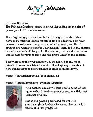 Princess Sessions