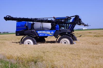 Sprayer in Cereal Crop