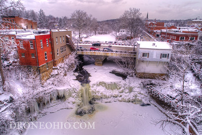 Chagrin Falls New Years Eve - FROZEN