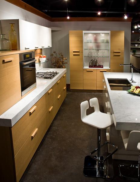Design Center showroom of Snaidero Kitchens