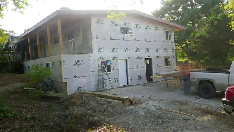 From old house front to new one in 43 seconds