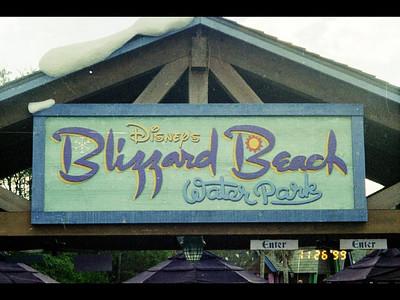 Blizard Beach - 1999 Holidays