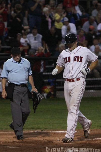 Barrie Baycats at Brantford Red Sox IBL Playoffs, Finals Game 3 August 27,  2012