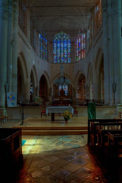 Bar-sur-Seine, Church of Saint Stephen Choir